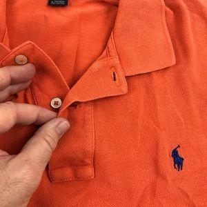 Polo Ralph Lauren polo shirt L •buttons •Mark